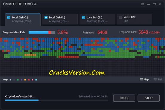 IObit Smart Defrag Pro Crack Download