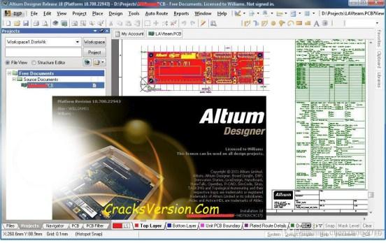 Altium Designer 17 Crack With License Key Full Download