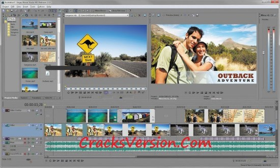 Sony Vegas Pro 14 Crack with Serial Number