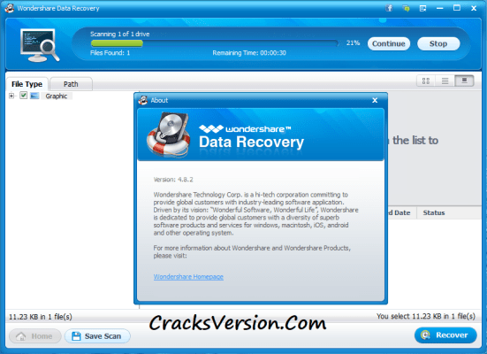 WonderShare Data Recovery Crack + Registration Code