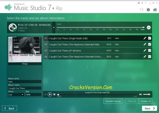 Ashampoo Music Studio 7 Crack + License Key Download