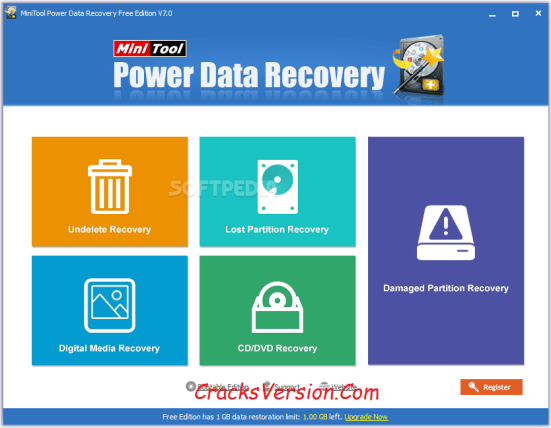 MiniTool Power Data Recovery Crack + Serial Key Download