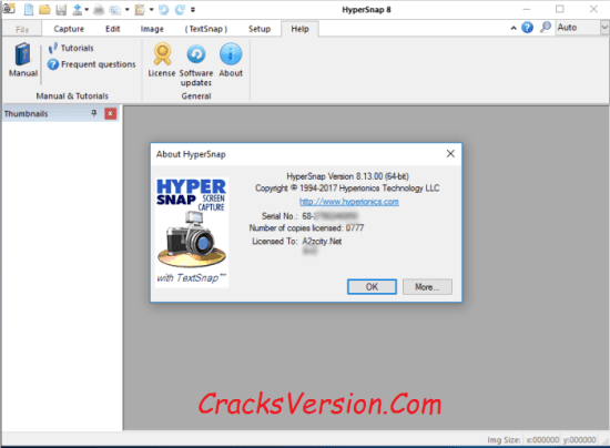 HyperSnap 8 License Key Crack Keygen Full Free Download
