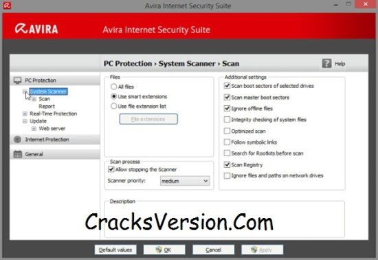 Avira Internet Security 2018 Serial Key Till 2050 Working