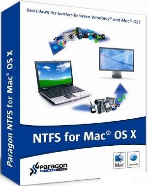 Paragon NTFS 15 Serial Key Mac OS X