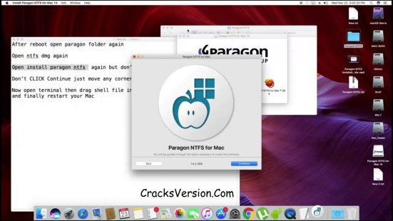 Paragon NTFS for Mac 15 Crack Download
