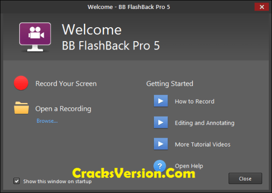Download BB FlashBack PRO 5.31.0 Crack