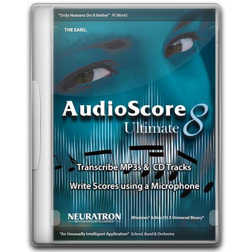 AudioScore Ultimate 8 Crack Full Free Download