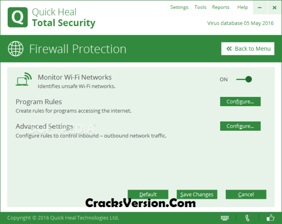 Quick Heal Total Security 2018 Serial Key