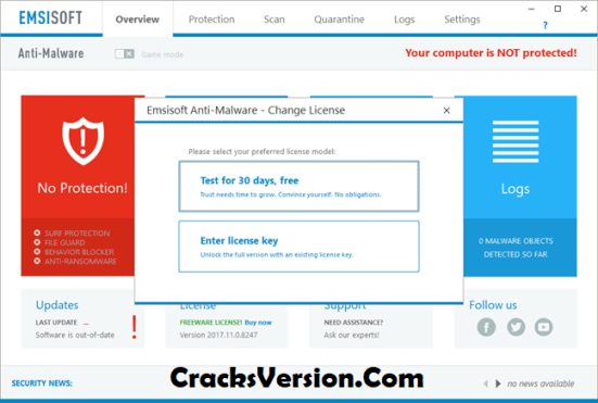Emsisoft Anti-Malware 2019 Crack