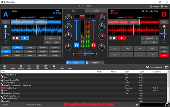 DJ Music Mixer License Key