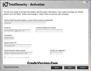 K7 Total Security 2020 Crack & Activation Key Free Download