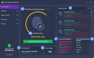 Avast AntiTrack Premium License Key