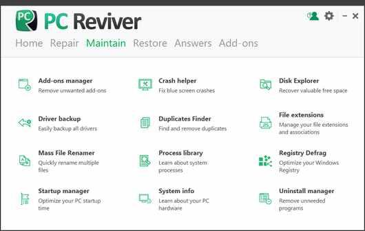 ReviverSoft PC Reviver Serial Key