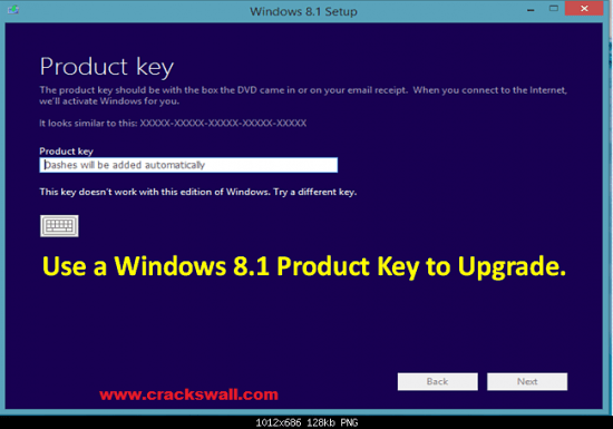 Window 8.1 Pro Product Key generator