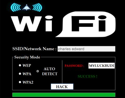 wifi password hacking