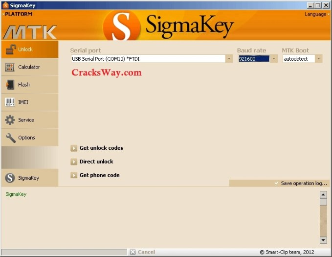 SigmaKey Box Serial Key