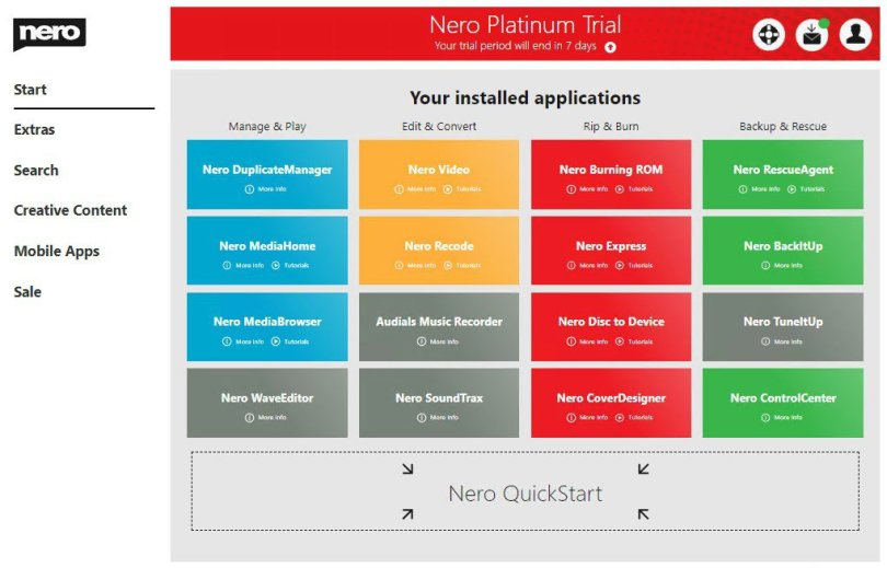 Nero Platinum 2021 Crack With License Key Latest Version