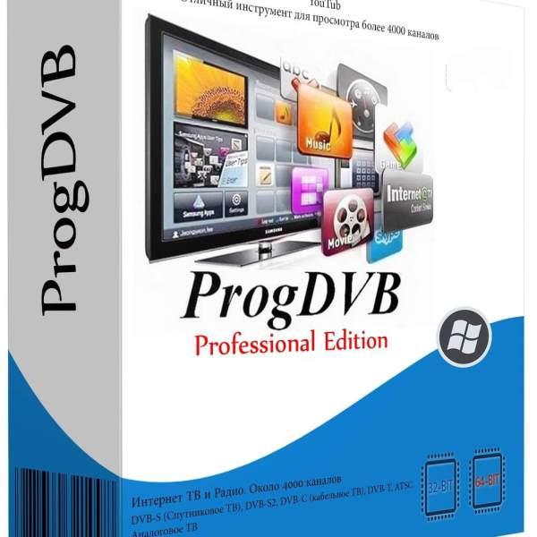 ProgDVB Crack v7.40.3 Professional {ProgTV} With Activation Key