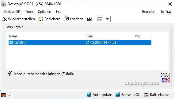 DesktopOK Serial key free download