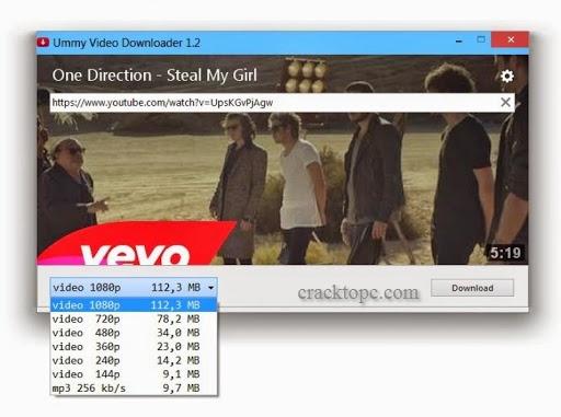 Ummy Video Downloader torrent