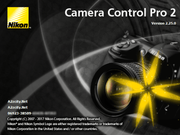 Nikon Camera Control Pro 2.31.0 Crack Free Download