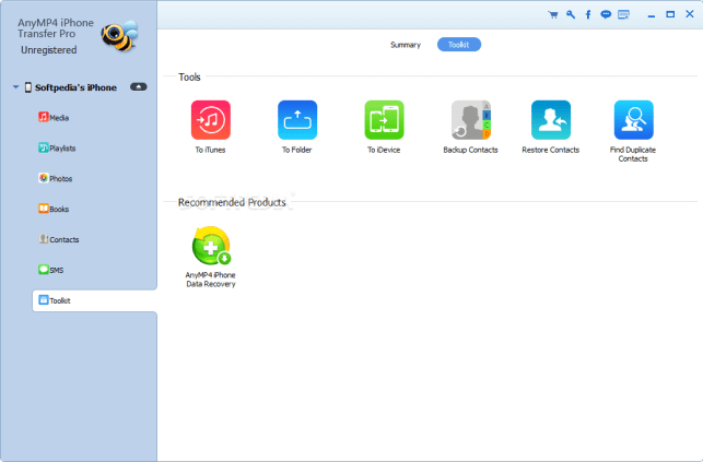 AnyMP4 iPhone Transfer Pro 9.1.3o Crack With License Number2021
