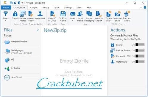WinZip Pro 24 Crack With Activation Code 2020 [Keygen]