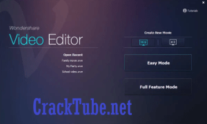 Wondershare Video Editor Crack + Registration Code [Latest]