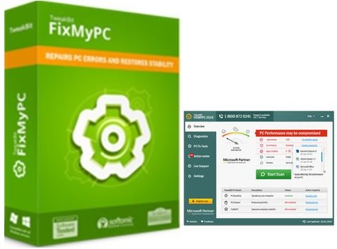 TweakBit FixMyPC 1.8.2.4 Crack & License Key Free Download 2019