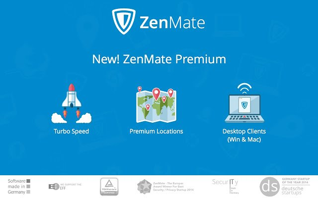 ZenMate Premium 6.3.1 Crack Free Download [Mac + Windows]