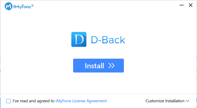 iMyFone D-Back 6.8 Crack With Registration Code Free Download