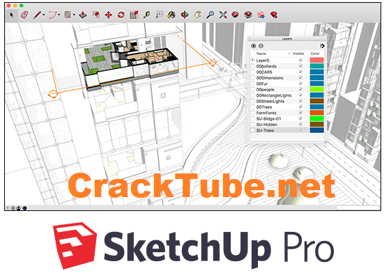SketchUp Pro 2021 Crack Torrent With License Key [Latest]