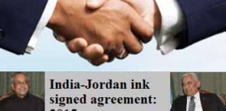 India-Jordan ink signed agreement 2015