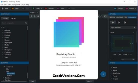 Bootstrap Studio Full Version