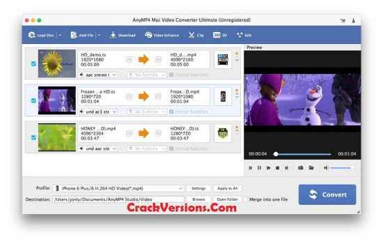 AnyMP4 Video Converter Ultimate Registration Code