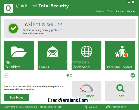 Quick Heal Total Security 2019 Serial Key