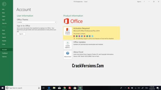Microsoft Office Professional Plus 2019 Product Key