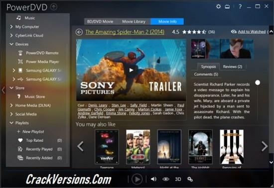 cyberlink powerdvd free download with key