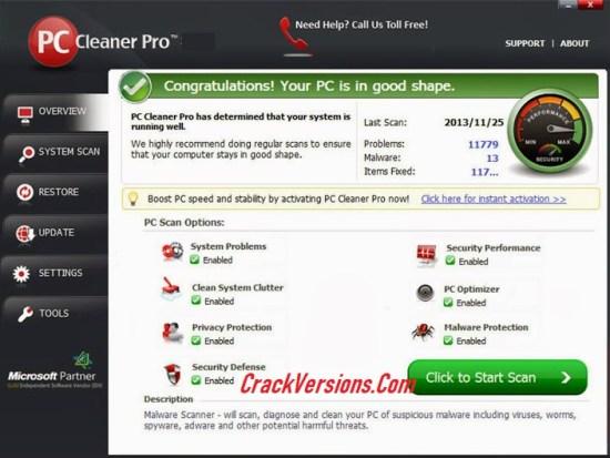 PC Cleaner Pro 2019 Keygen