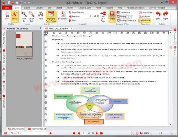 PDF Architect 5 Activation Key Screenshot