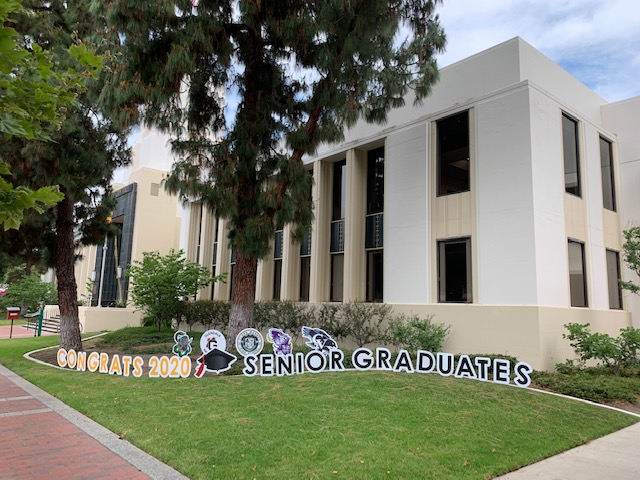 Graduation yard signs became an unexpected way to give a proper sendoff to the class of 2020.