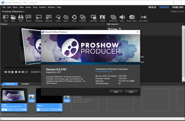 ProShow Producer 9.0.3797 License Key + Patch {2020} Free Download