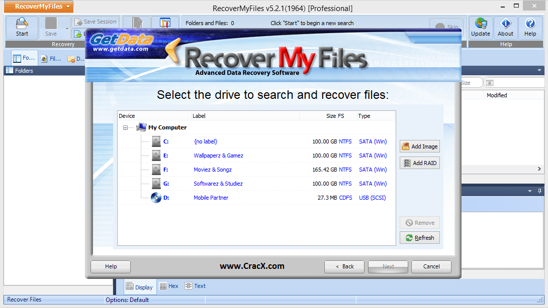 recover my files full crack free download