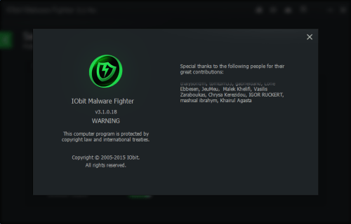 IObit Malware Fighter Pro 3.1 Key + Activation Code Full Download