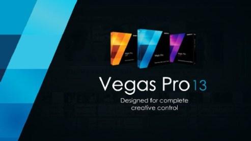 Sony Vegas Pro 13 Crack 2017 Free Download