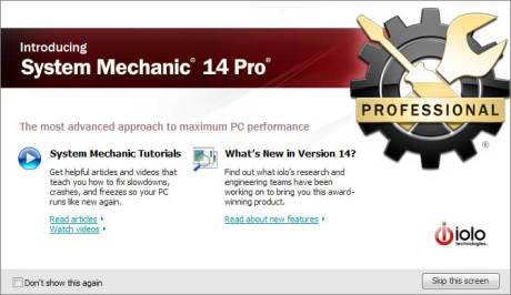 System Mechanic Professional 14 Keygen Crack + Activation Key Full