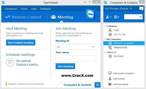 TeamViewer 9 License Code + Crack Full Free Download