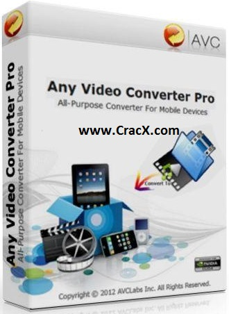 Any Video Converter Professional Crack + Keygen Full Free