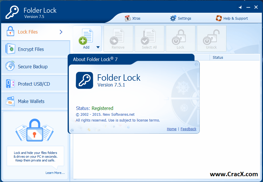 folder lock crack key